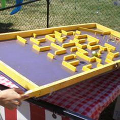 Labyrinth carnival game
