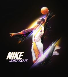 This ad has the Lakers basketball player Kobe Bryant soaring through the air for the dunk. http://yourproposalisacceptable9.blogspot.com/2011/09/nike-just-buy-it.html