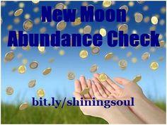 ShiningSoul: New Moon Abundance Check #July / Cheque da Abundân...