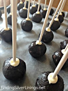 No-Bake Oreo Cake Pops, we're making them today, I can't wait!!