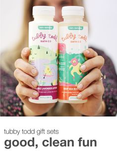 Tubby Todd gift sets are the perfect present for birthdays, baby showers, and holidays for your little one. #tubbytodd