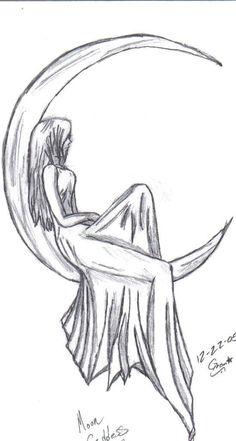 A mulher e a lua