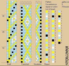 VITALINNA: Mes colliers au crochet: 4 - Collier à gouttes