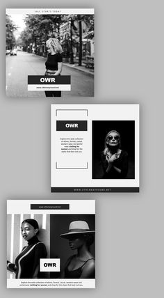 Presenting the Instagram Black & White Pack.  If there's one thing all creative industries can agree on, it's that black and white is a timeless pair. Black and white designs have always been extremely popular. They're incredibly versatile, easy to use, and effective as anything! Insta Layout, Instagram Feed Layout, Feeds Instagram, Instagram Design, Graphic Design Fonts, Web Design, Grid Design, Branding Design, Social Media Branding