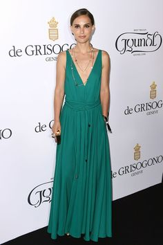 Natalie Portman in Lanvin attends the De Grisogono party during the 68th annual Cannes Film Festival. #bestdressed