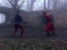 german longsword demonstration, a bit flashy, but very well executed