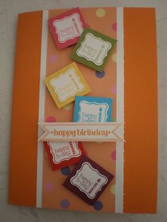 Stampin Up Sale-a-bration Pretty Petites. I love this card!
