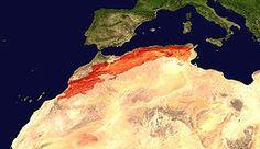 Atlas Mountain Range Across Northern Africa, The Maghreb Moon Sea, Australia Map, The Atlas, Above And Beyond, Mountain Range, Atlas Mountains, North Africa, Casablanca, Continents