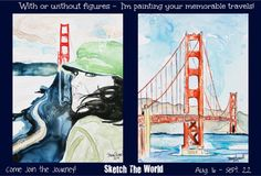Sketch The World - your travels, painted by Shaina Kay Stinard - Artist — Kickstarter