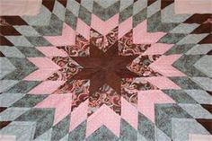 Star in Common Amish Quilt