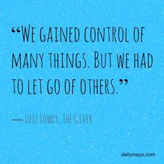 Quote Me Thursday Link-Up: 6 Mind-Blowing Quotes from The Giver | Daily Mayo