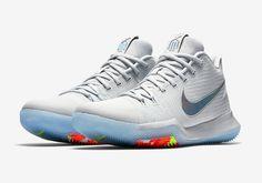 new concept 92cd2 d0f44 nike kyrie 3 iridescent swoosh Nike Basketball Shoes, Buy Basketball,  Basketball Legends, Basketball