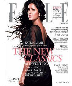 Elle India, August Katrina Kaif on the Magazine Cover. Bollywood Photos, Bollywood Stars, Bollywood Fashion, Fashion Magazine Cover, Magazine Covers, Vogue India, Popular Girl, Perfect Wardrobe, Indian Film Actress