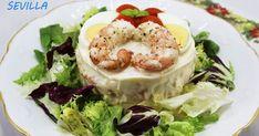 Pastel de patata y gambones Thermomix, tartas saladas thermomix, recetas de Navidad thermomix,