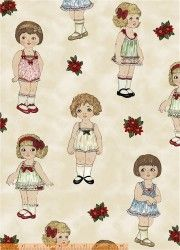 Paper Dolls Christmas - 30859-X - The Quilt Store