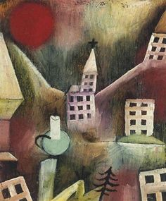 Paul Klee (1879-1940) - Destroyed village (1920)