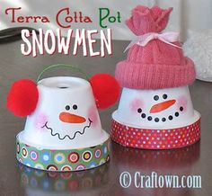 Terra Cotta Pot Christmas Crafts - Bing Bilder