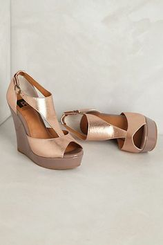 Diamond Wedges by Anthropologie <3 $70