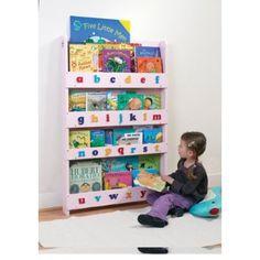 Bibliothèque pour enfants Tidy Books Rose avec Alphabet