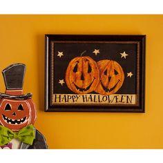 Happy Halloween Framed Art Print; Sale $12.74