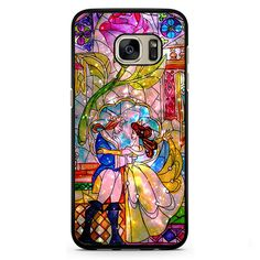 Beauty And The Beast Sparkle Phonecase Cover Case For Samsung Galaxy S3 Samsung Galaxy S4 Samsung Galaxy S5 Samsung Galaxy S6 Samsung Galaxy S7