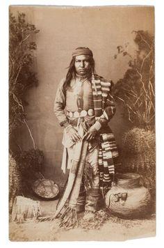 Apache Photos Arizona, USA 1886 ck