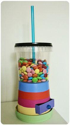 craftingeek candy shake dispensador de dulces
