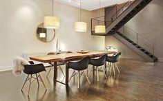 Decofilia Blog   Decoración de comedores con sillas Eames