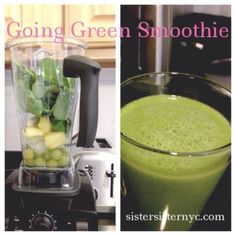 1/2 cup (120 ml) water 1 cup (160 g) green grapes 1/2 cup (78 g) pineapple chunks 2 cups (60 g) fresh spinach, packed 1/2 ri...