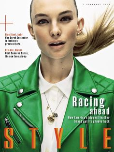 Sunday Times Style Magazine February 7, 2016 Cover