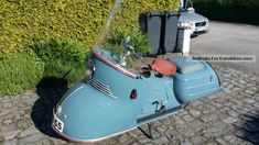 Maico  MAICO-MOBIL MB200 1954 Vintage, Classic and Old Bikes photo