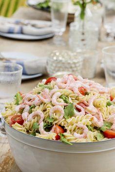 Ukemeny for uke 18 Recipe Boards, Summer Recipes, Pasta Salad, Potato Salad, Food Porn, Food And Drink, Dinner, Ethnic Recipes, Summer Food