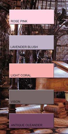 A/W 2017 lingerie colors