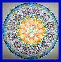 Tekenpraktijk De Innerlijke Wereld: Mandala conheceu harteknoop en Zendrup