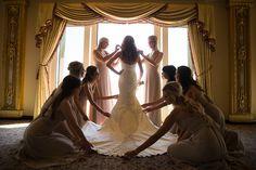 Photography: Lin & Jirsa / http://www.stylemepretty.com/california-weddings/2014/12/05/jen-bunneys-elegant-la-wedding/