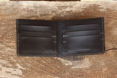 Leather Wallet Men's Leather Wallet Credit Card Wallet by TAGSMITH