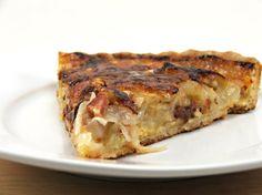 Onion, Apple, & Bacon Tart