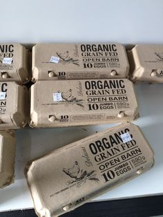 organic eggs, interact packaging