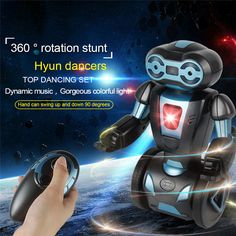 Buy Wholesale Stunt Robots 702A Lightweight 2.4G Rechargeable Remote Control Intelligent Balance RC Robot Toys for Gifts on Gogiftpro.com