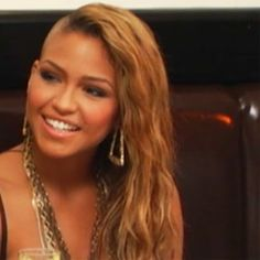 Cassie as a Blond. Angelic.