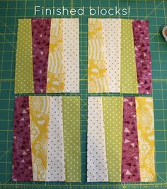 Quilts by Emily: Wonky Stripes Baby Quilt + Tutorial! Quilt Square Patterns, Patchwork Quilt Patterns, Beginner Quilt Patterns, Quilting For Beginners, Square Quilt, Quilting Patterns, Stripe Quilt Pattern, Patchwork Ideas, Crazy Patchwork