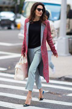 Деловой стиль Амаль Клуни – фото | Мода | Новости | VOGUE