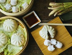 This is an easy, basic steamed bun dough recipe for Char Siu Bao or a whole host of dim sum dishes.