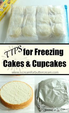 I love freezing cakes and cupcakes. I actually think they taste better and are…