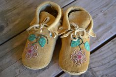 Baby Moccasins by TraditionalNative on Etsy, $90.00