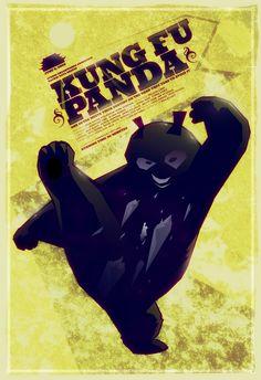 Skadoosh!  Sweet Kung Fu Panda poster!