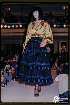 Fashion show Christian Aujard autumn/winter 1977