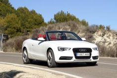 Audi A5 Cabrio. #windscreen #audia5 #windblocker http://www.windblox.com/