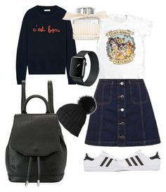 """""""Untitled #68"""" by pentecostal-apostolicfashion2016 on Polyvore featuring Topshop, adidas Originals, Chinti and Parker, Black, rag & bone and Chloé"""
