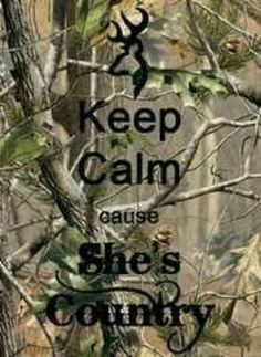 Um so I'm country and all my friends no how much i love camo :-)